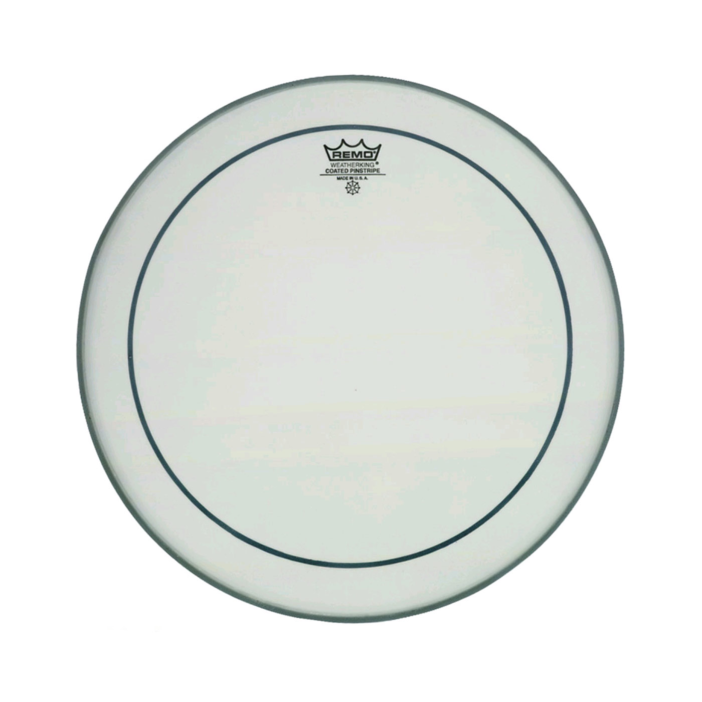 """Remo 20"""" Pinstripe Coated Bass Drum Head"""