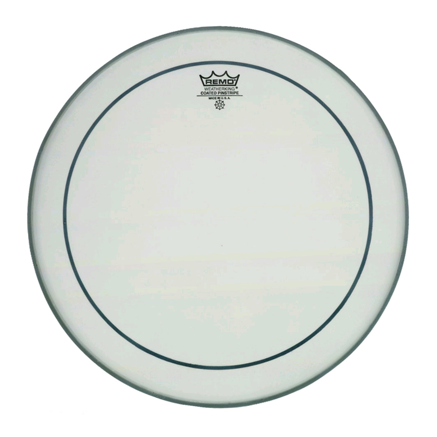 """Remo 24"""" Pinstripe Coated Bass Drum Head"""