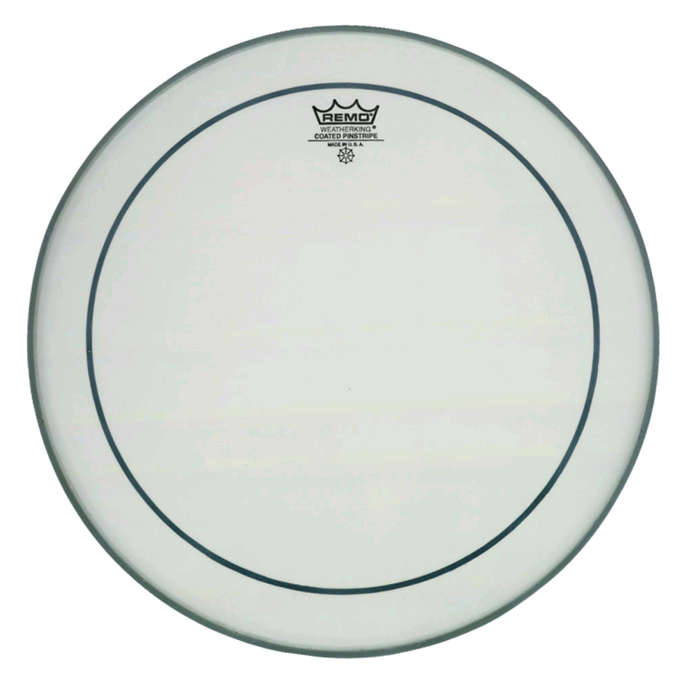 """Remo 26"""" Pinstripe Coated Bass Drum Head"""