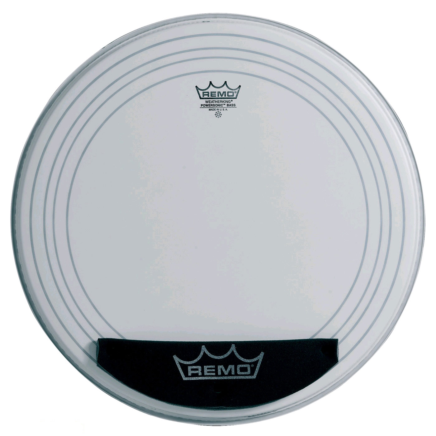 """Remo 18"""" Powersonic Coated Bass Drum Head"""