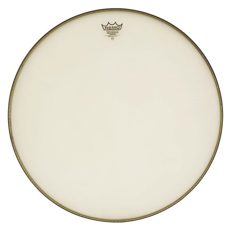 """Remo 22"""" RC-Series (Renaissance) Hazy Timpani Head with Low-Profile Steel Insert Ring"""
