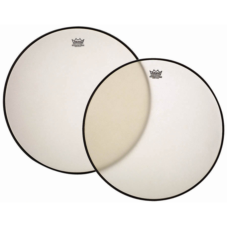 """Remo 23"""" RC-Series (Renaissance) Hazy Timpani Head with Low-Profile Steel Insert Ring"""