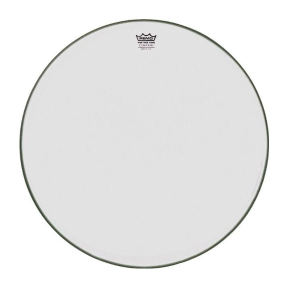 "Remo 35"" RC-Series (Renaissance) Hazy Timpani Head with Low-Profile Steel Insert Ring"