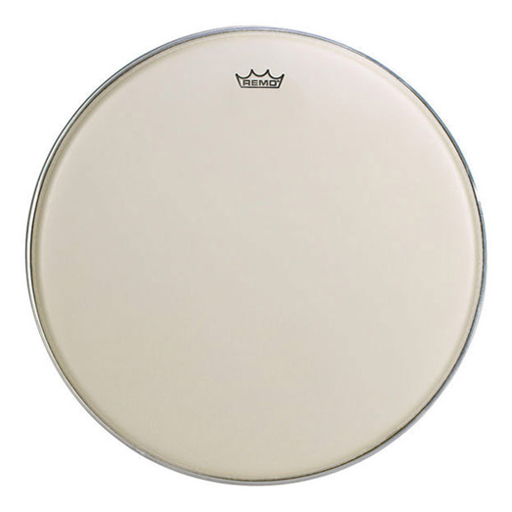 "Remo 28"" TC-Series (Custom) Hazy Timpani Head with Low-Profile Steel Insert Ring"