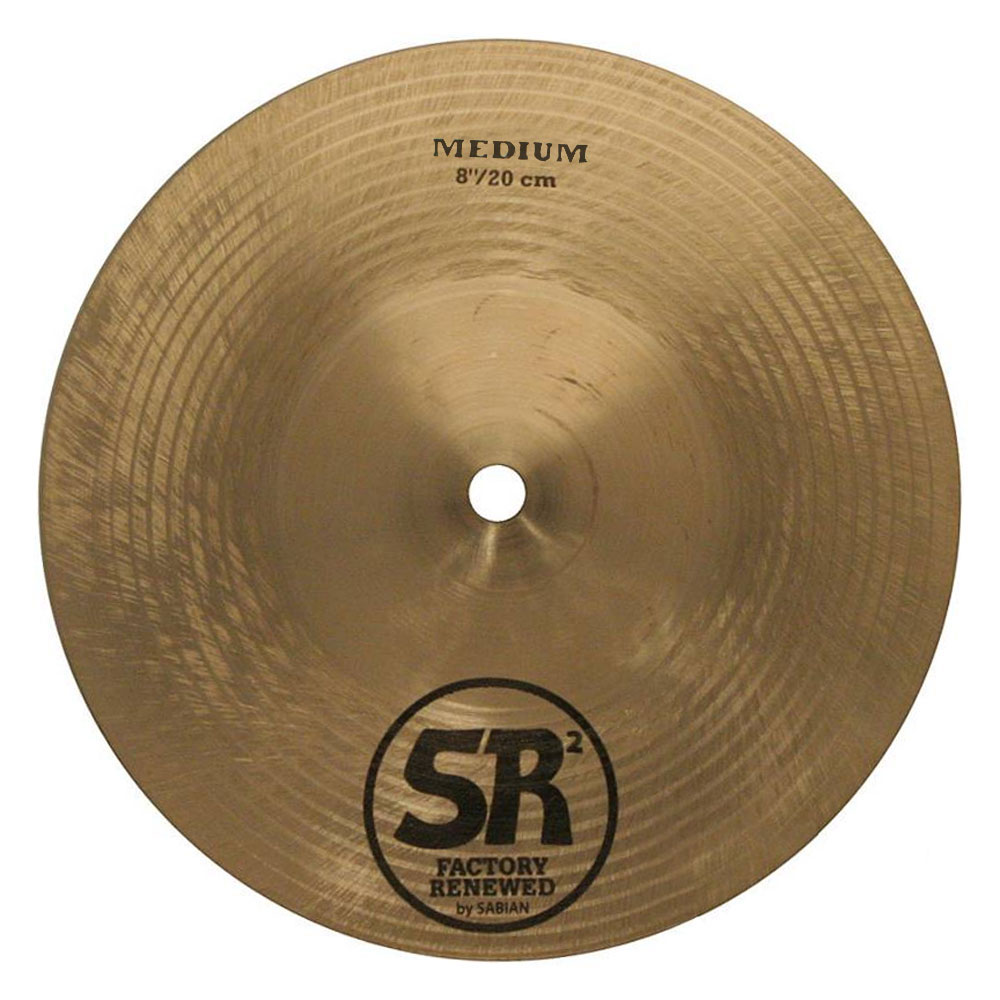 "Sabian 8"" SR2 Medium Cymbal"