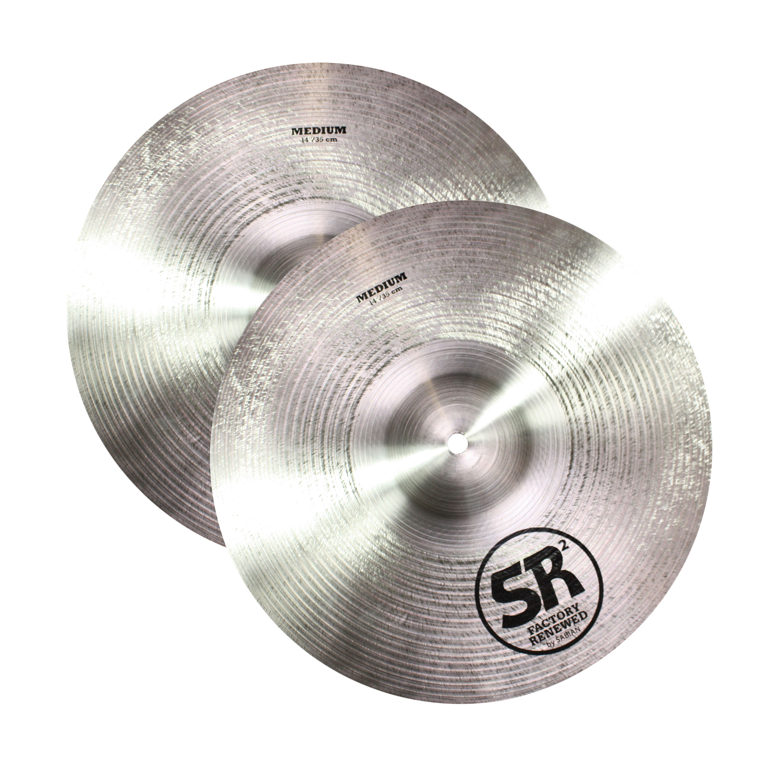 "Sabian 14"" SR2 Band & Orchestra Medium Crash Cymbal Pair"