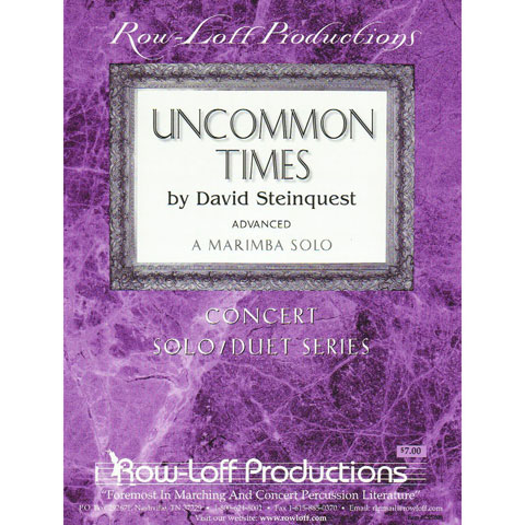 Uncommon Times by David Steinquest