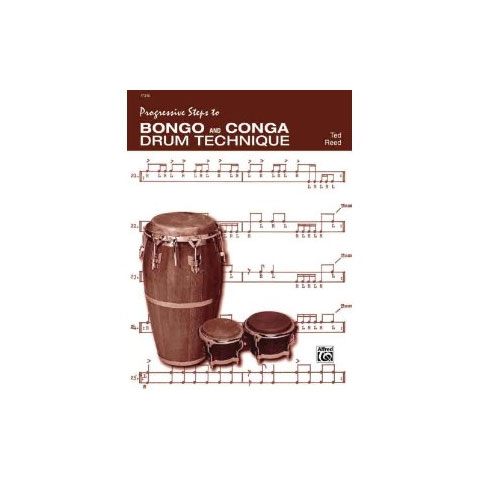Bongo and Conga Drum Technique by Ted Reed