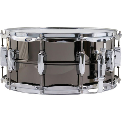 "Ludwig 6.5"" x 14"" Black Beauty Snare Drum with Imperial Lugs"