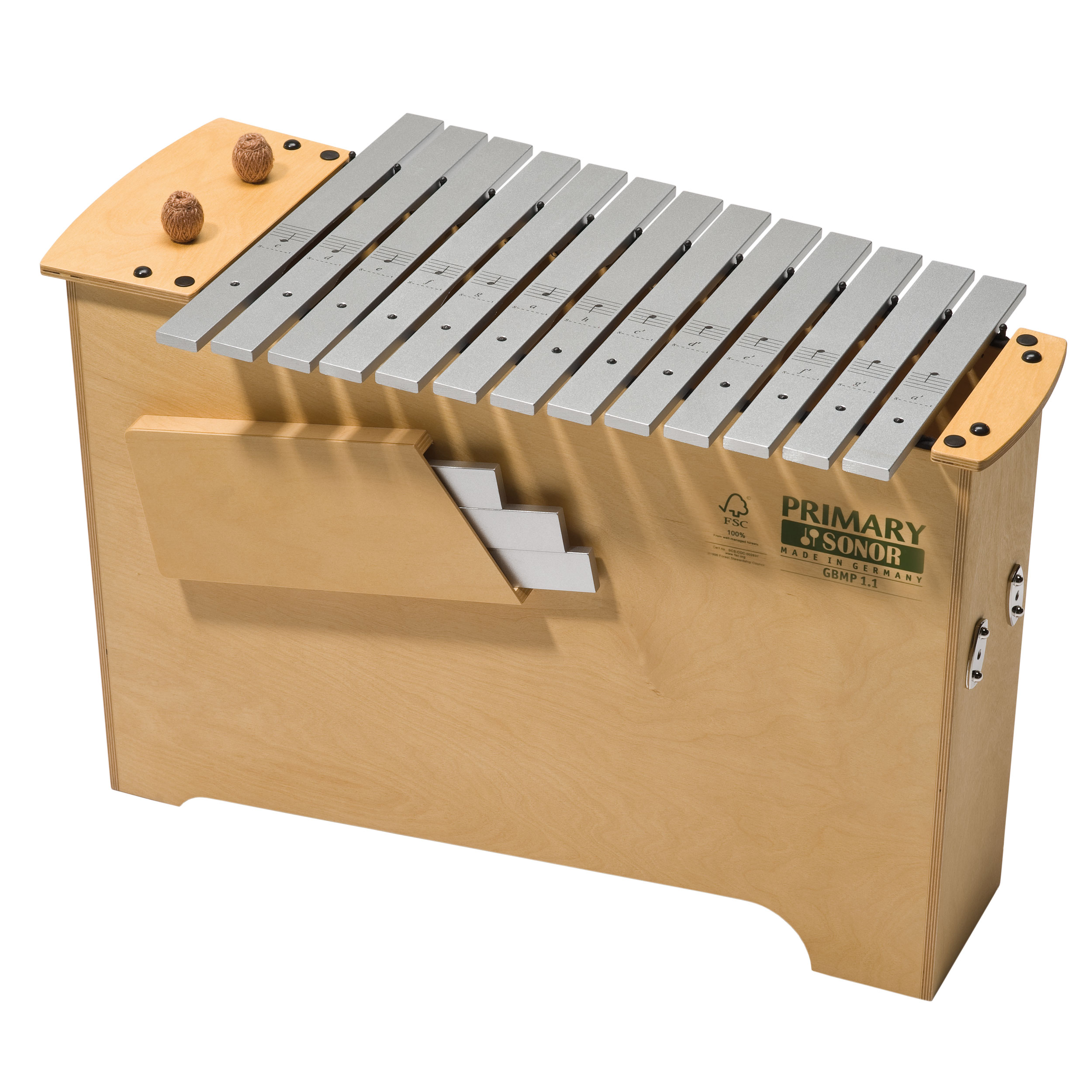 Sonor Orff Primary Bass Diatonic Metallophone