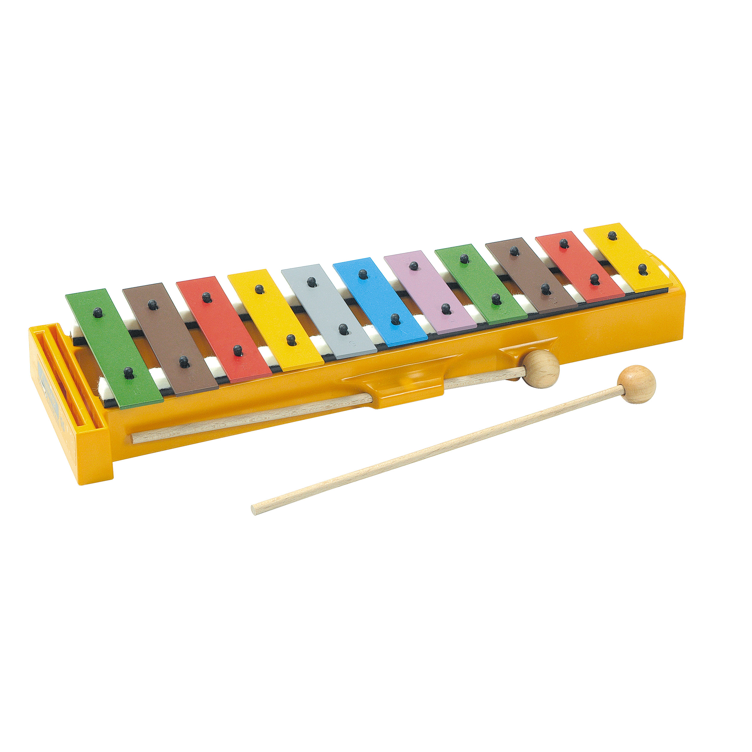 Sonor Orff 11-Bar Multi-Colored Kinderglockenspiel