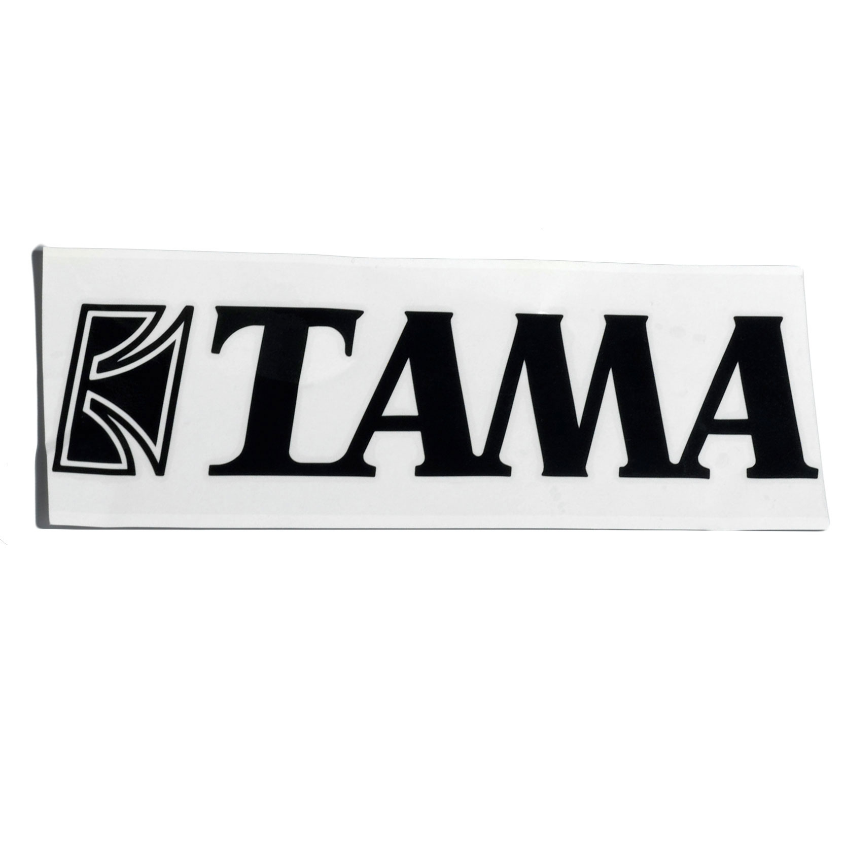 """Tama Black Logo Decal for 24"""" - 30"""" Bass Drums"""
