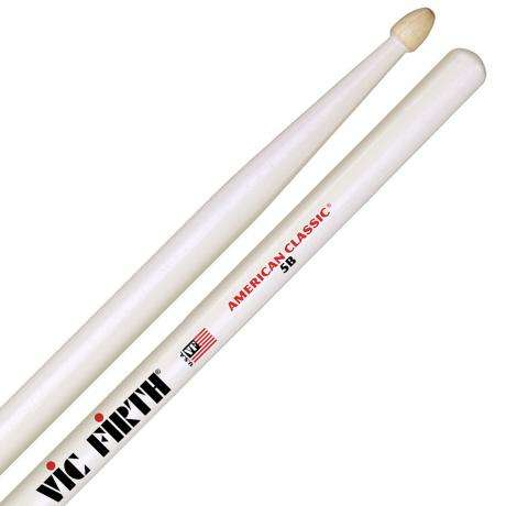 Vic Firth American Classic 5B White Drumsticks