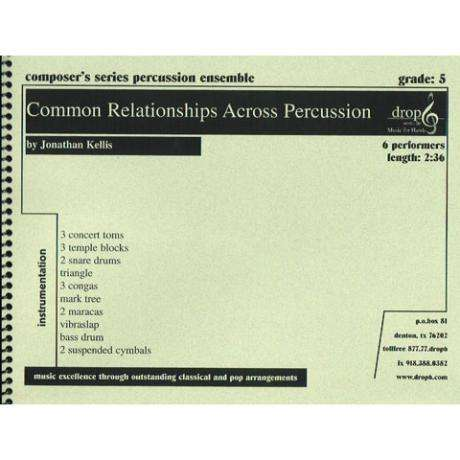 Common Relationships Across Percussion by Jon Kellis