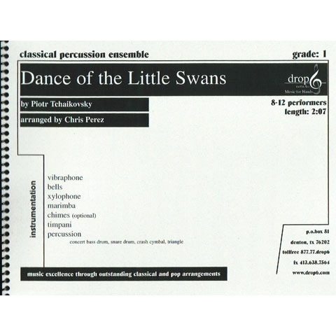 Dance of the Little Swans from Swan Lake by Tchaikovsky arr. Perez