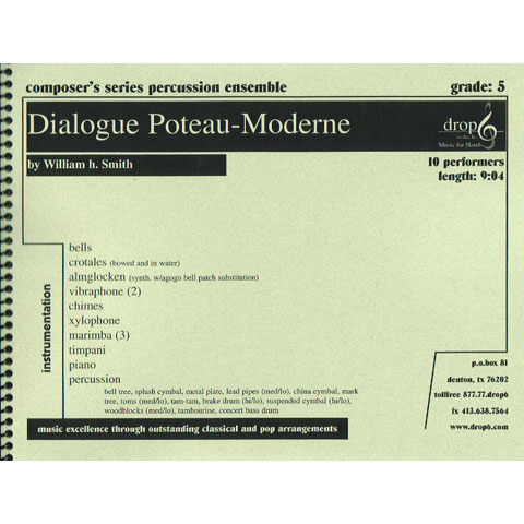 Dialogue Poteau-Moderne by William H. Smith