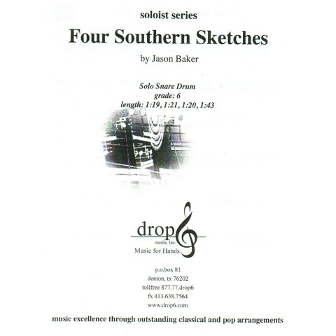 Four Southern Sketches by Jason Baker