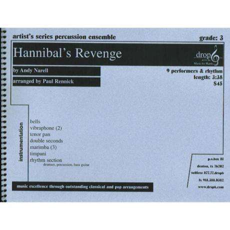Hannibal's Revenge by Andy Narell arr. Paul Rennick