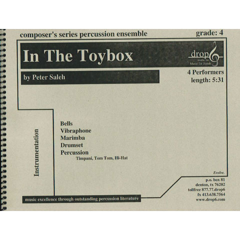 In the Toybox by Peter Saleh