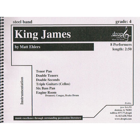 King James by Matt Ehlers