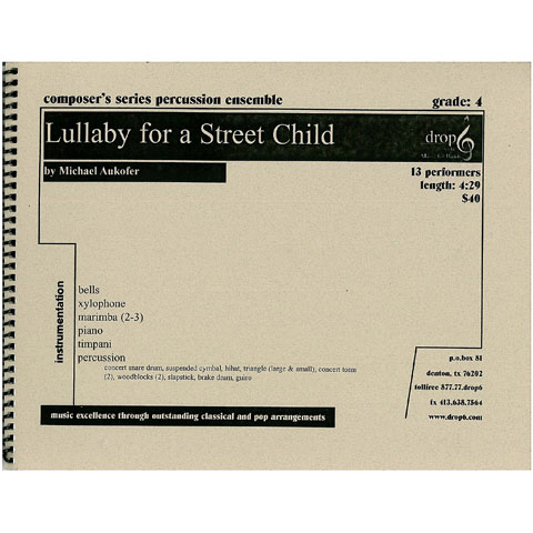 Lullaby for a Street Child by Michael Aukofer