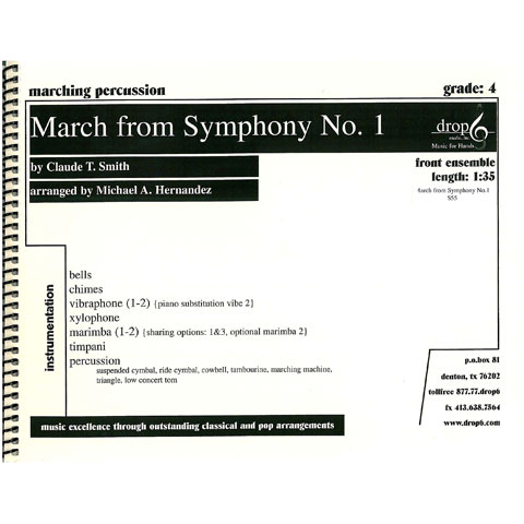 March from Symphony No. 1 by Smith arr. Hernandez