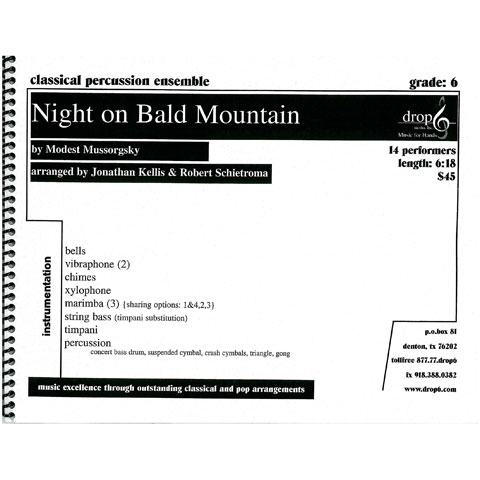 Night on Bald Mountain by Mussorgsky arr. Kellis and Schietroma