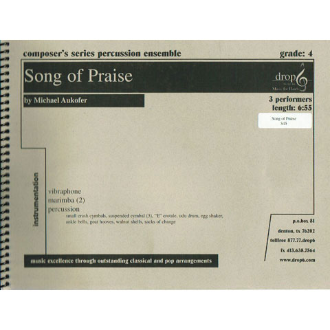 Song of Praise by Michael Aukofer