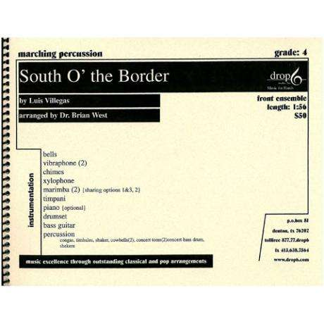 South O' The Border by Luis Villegas arr. West