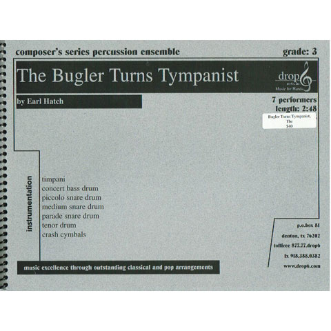 The Bugler Turns Timpanist by Earl Hatch