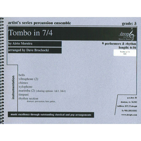 Tombo in 7/4 by Airto Moriera arr. Brochocki