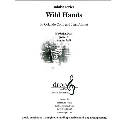 Wild Hands by Orlando Cotto and Juan Alamo