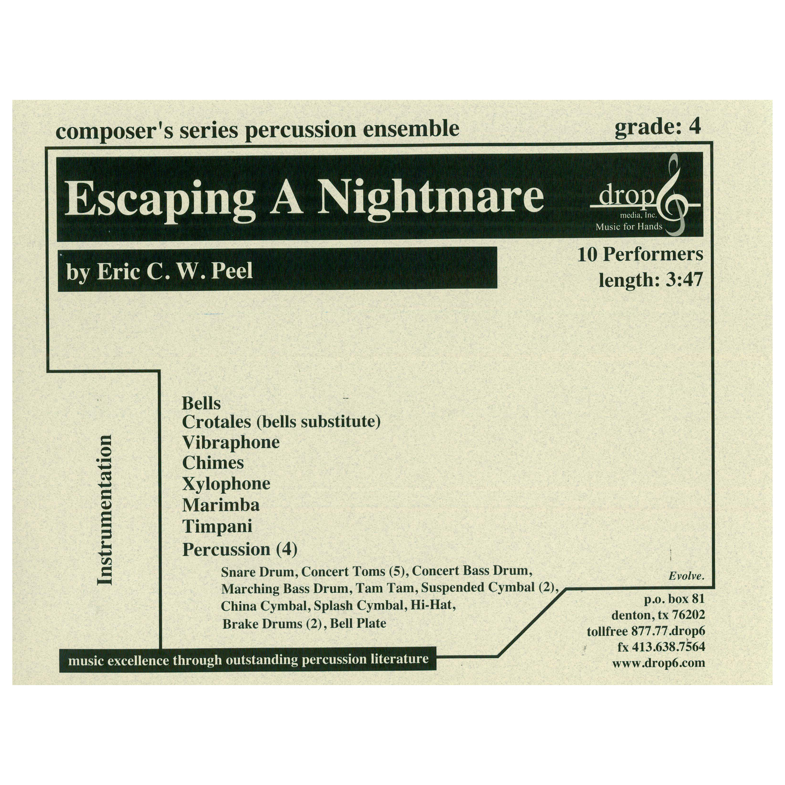 Escaping a Nightmare by Eric Peel