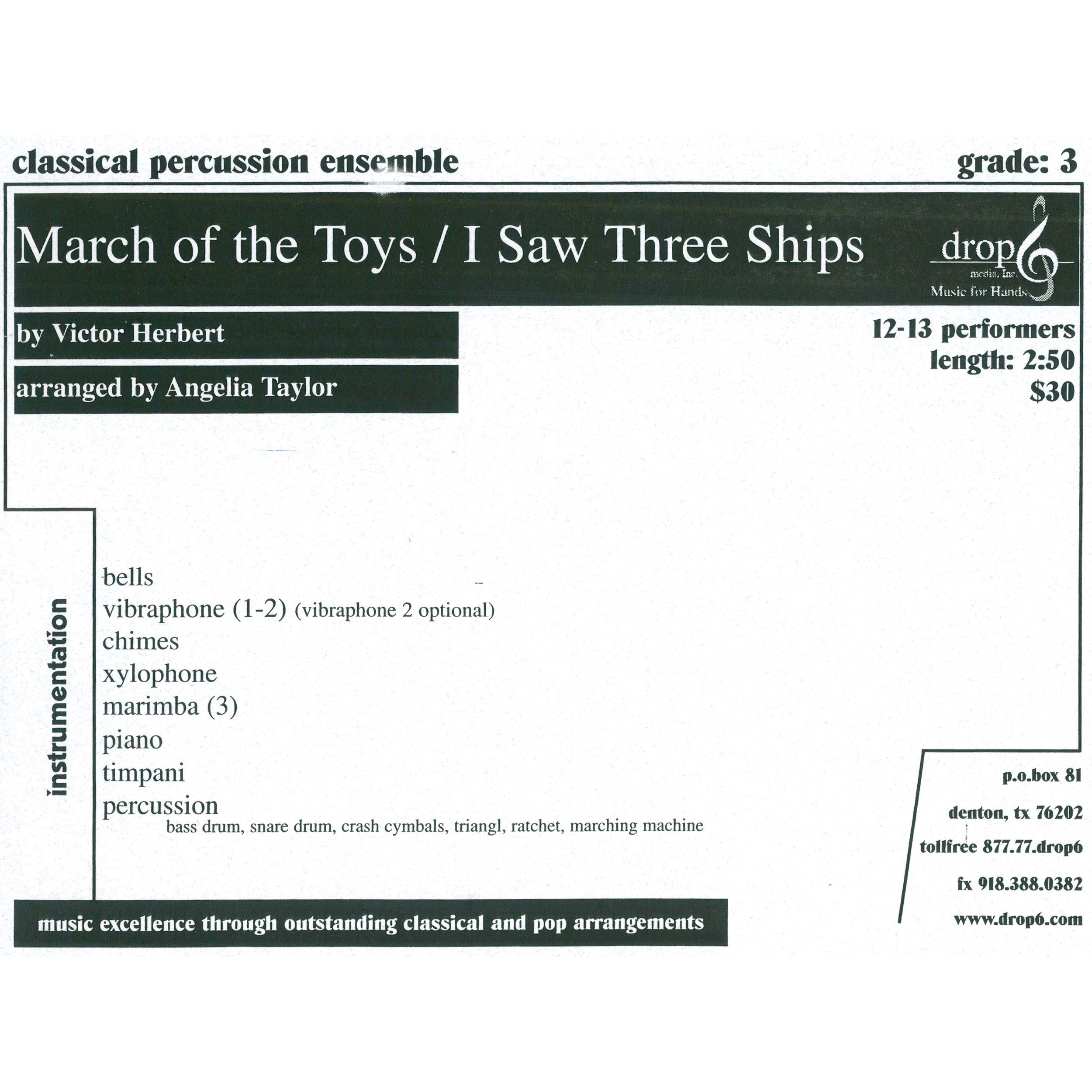 March of the Toys by Victor Herbert arr. Taylor, ed. Schietroma
