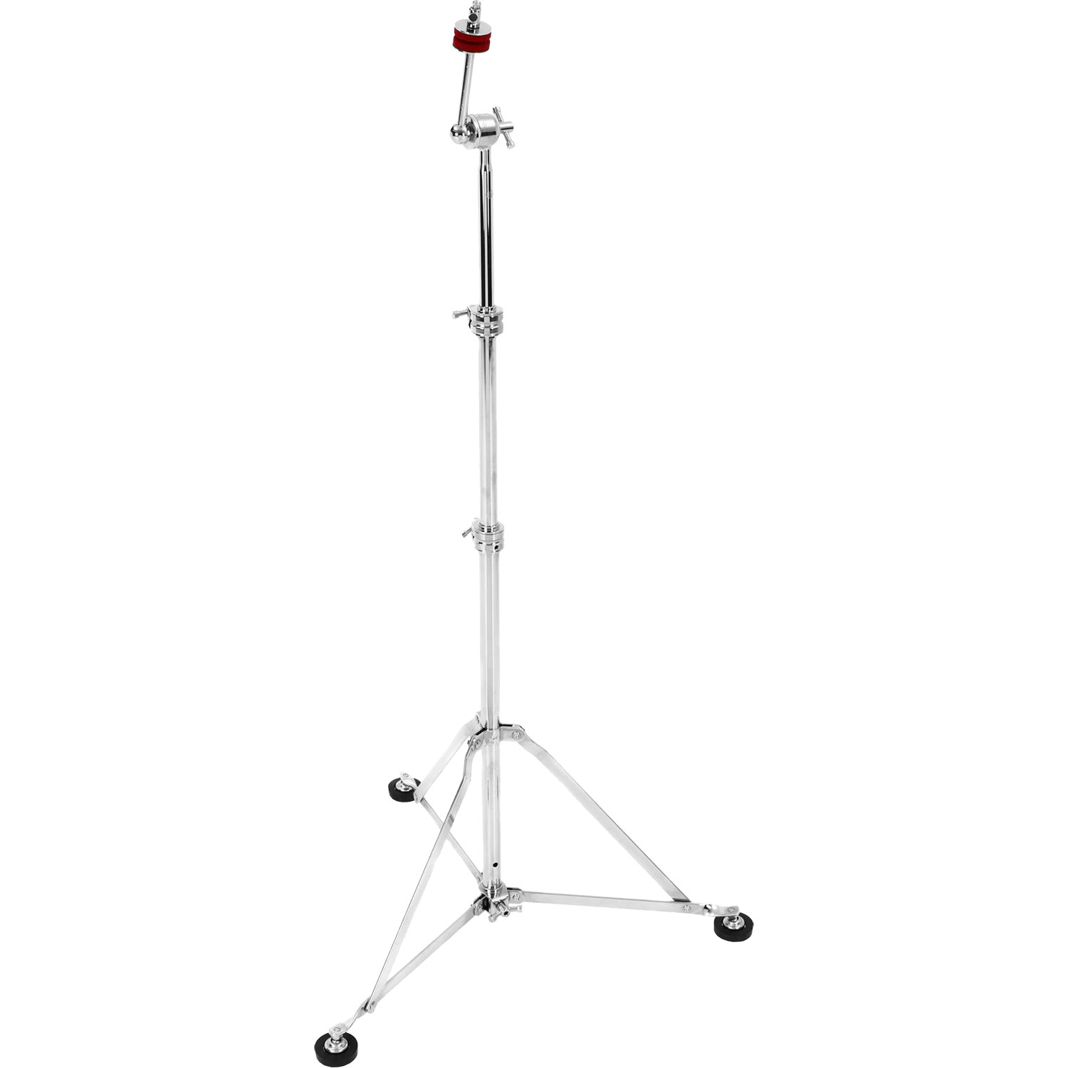 A&F Drum Co. Nickel Plated Straight Cymbal Stand