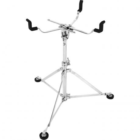 A&F Drum Co. Nickel Plated Standard Snare Drum Stand