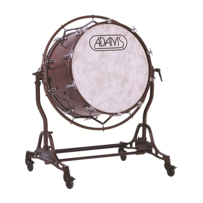 "Adams 28"" (Diameter) x 22"" (Deep) Concert Bass Drum with STBD Suspended Stand"