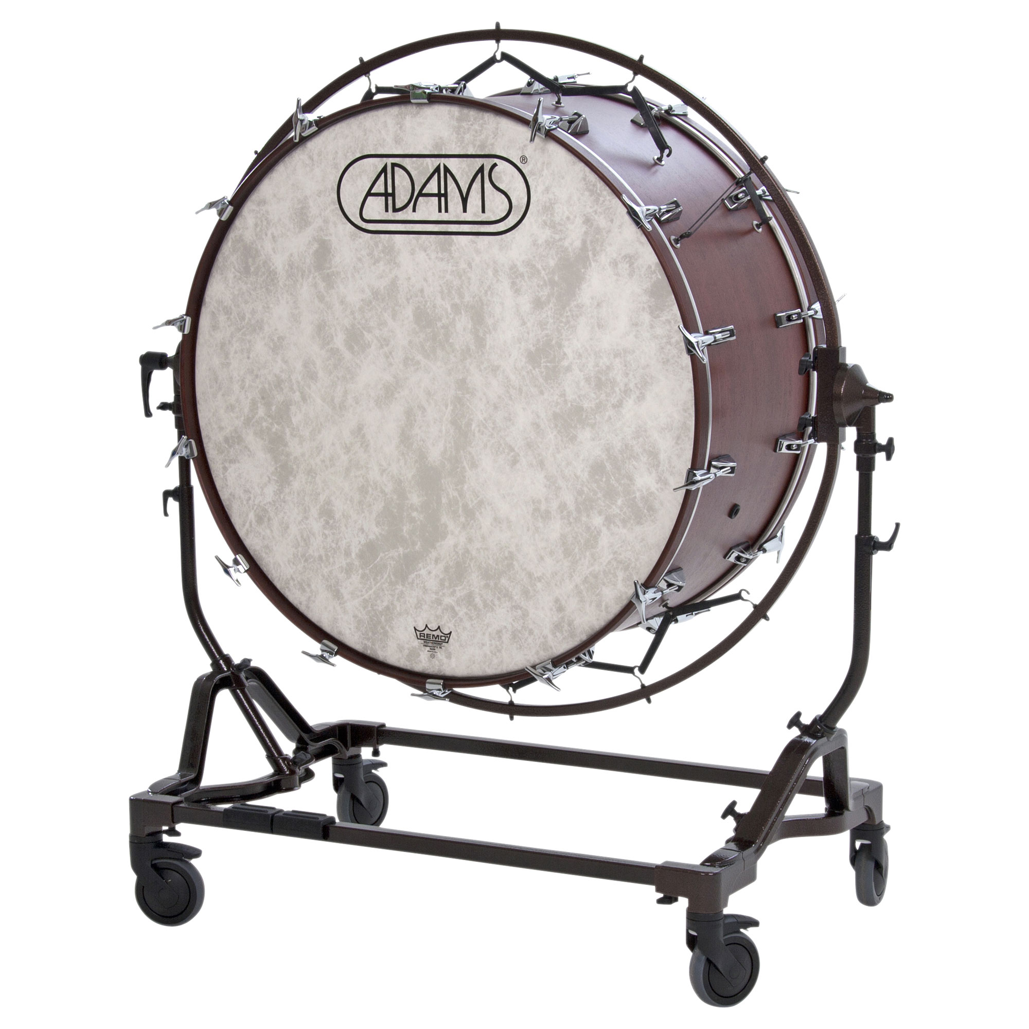 """Adams 36"""" (Diameter) x 22"""" (Deep) Concert Bass Drum with STBD Suspended Stand"""