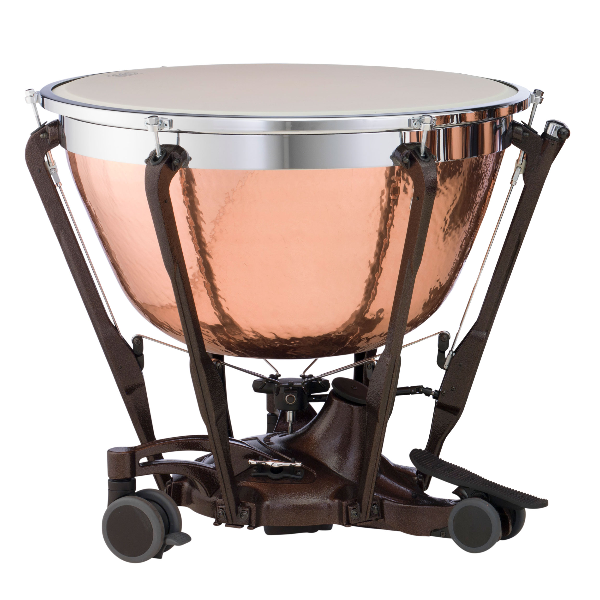 "Adams 20"" Professional Gen II Hammered Cambered Copper Timpani with Fine Tuner"