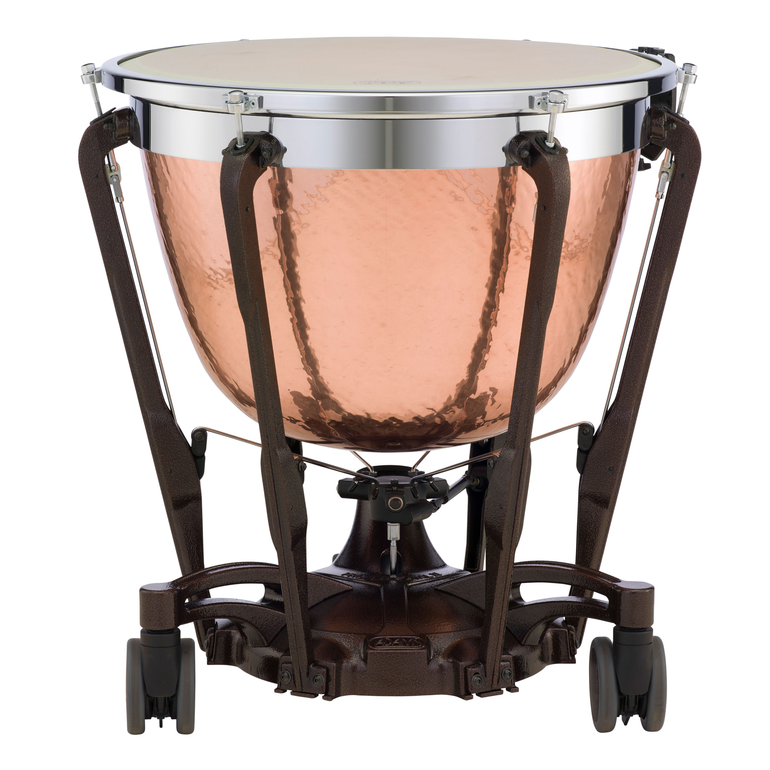 "Adams 26"" Professional Gen II Hammered Cambered Copper Timpani with Fine Tuner"