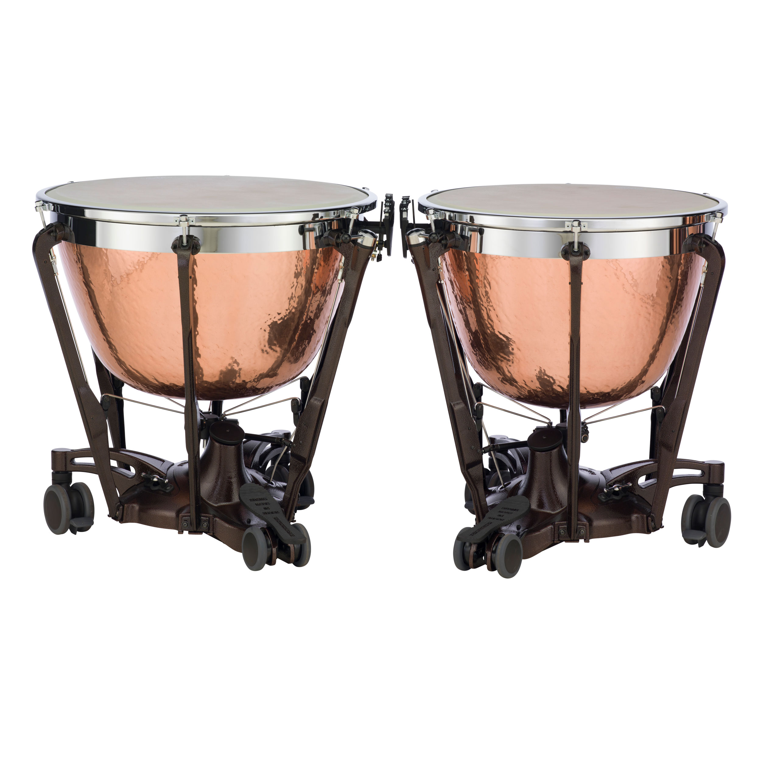 "Adams 26/29"" Professional Gen II Hammered Cambered Copper Timpani w/Fine Tuners"