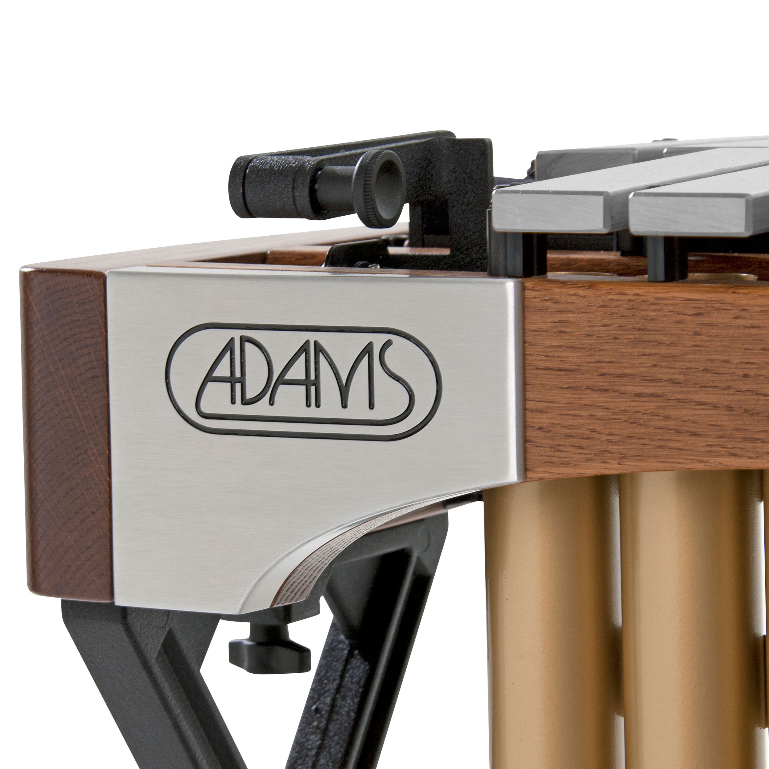 Adams 4.0 Octave Alpha Series Vibraphone with Silver Bars, Traveler Frame, and Motor