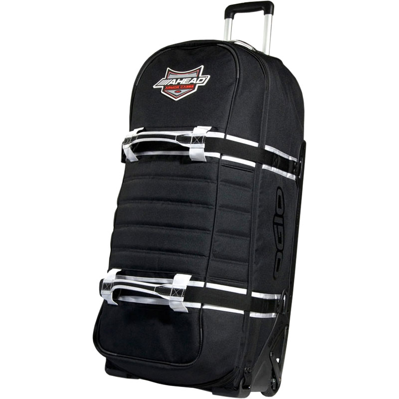 """Ahead Armor 38"""" x 16"""" x 14"""" Ogio Sled Hardware Bag w/ Wheels & Pull-Out Handle"""