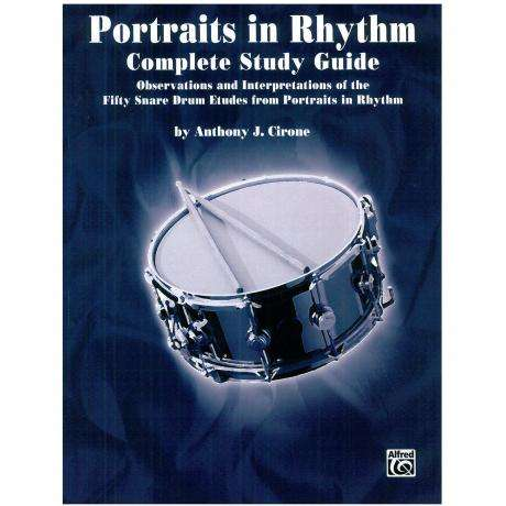 Portraits in Rhythm - Complete Study Guide by Anthony Cirone
