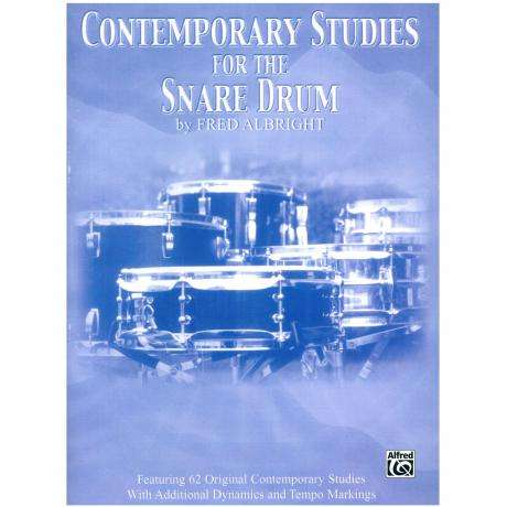 Contemporary Studies for the Snare Drum by Fred Albright