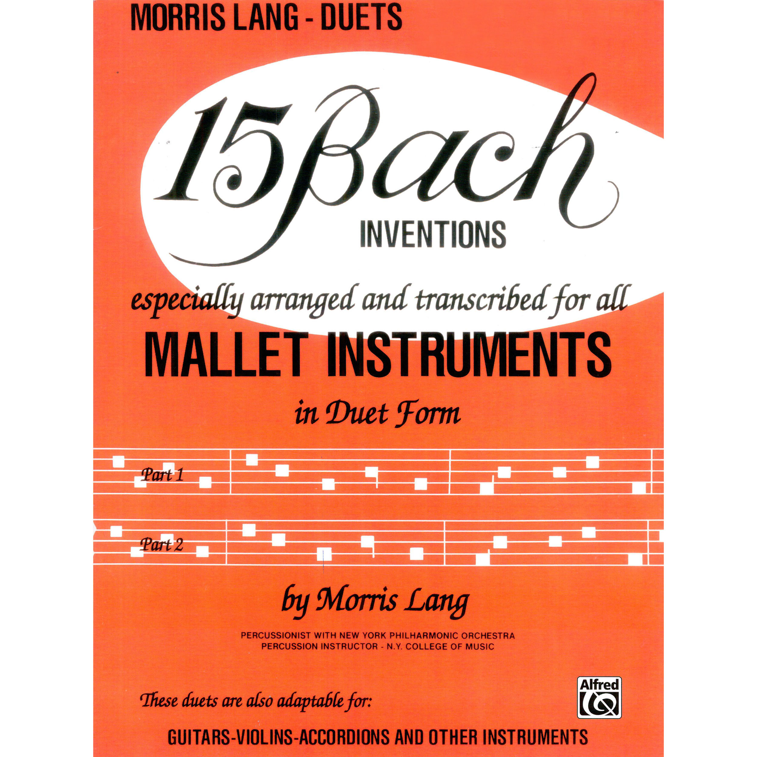 15 Bach Inventions by Morris Lang