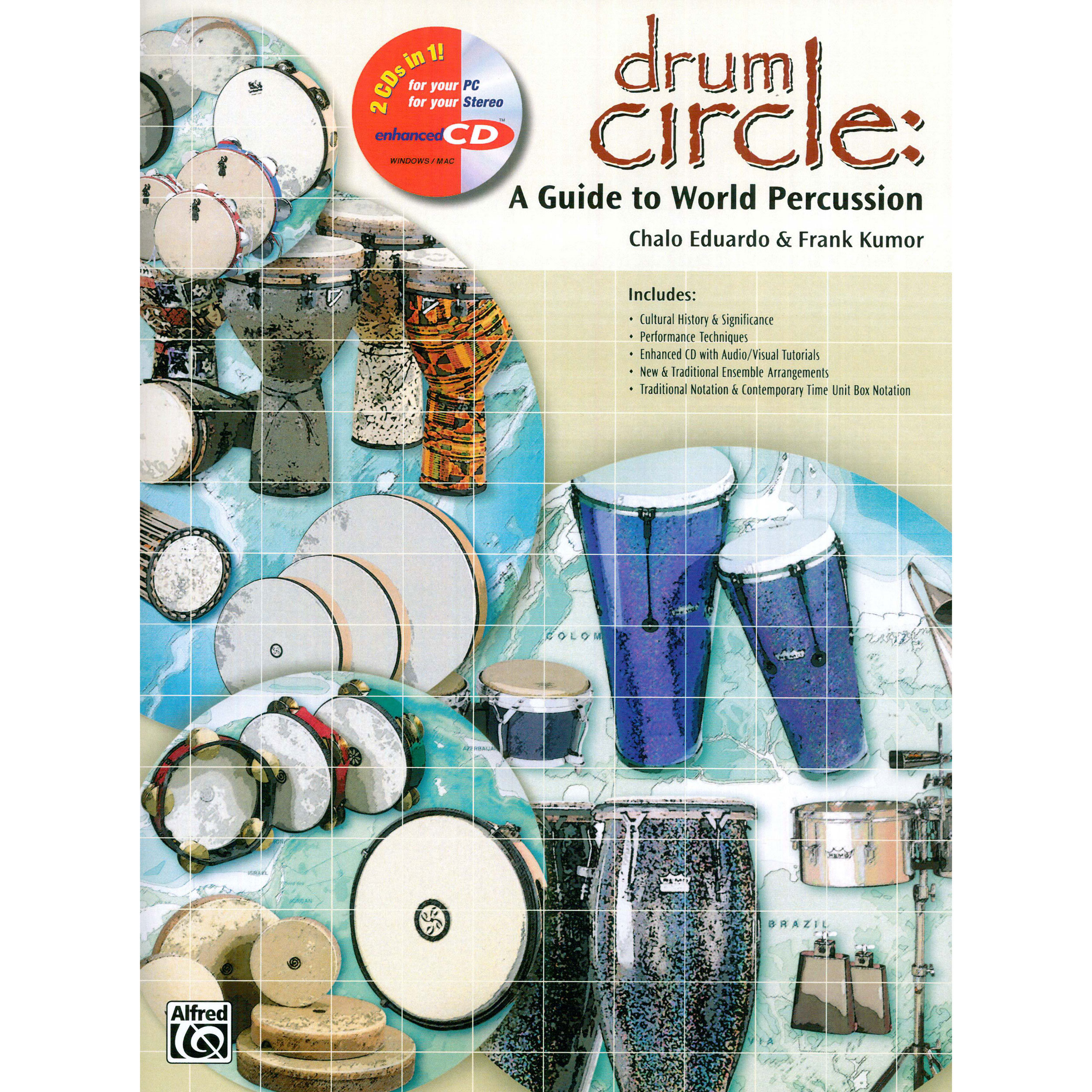 Drum Circle: A Guide to World Percussion by Chalo Eduardo and Frank Kumor