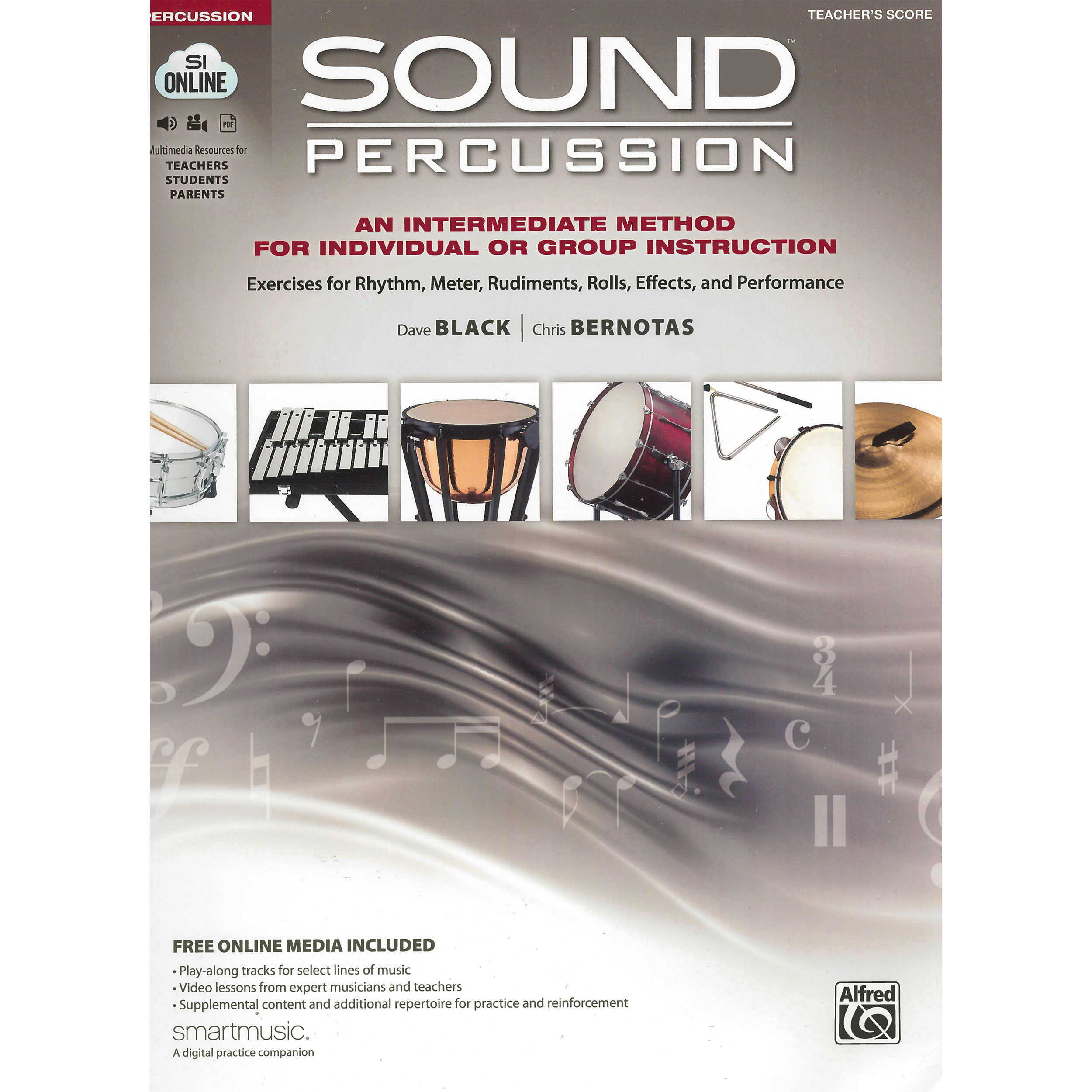Sound Percussion by Dave Black and Chris Bernotas (Teacher Score)