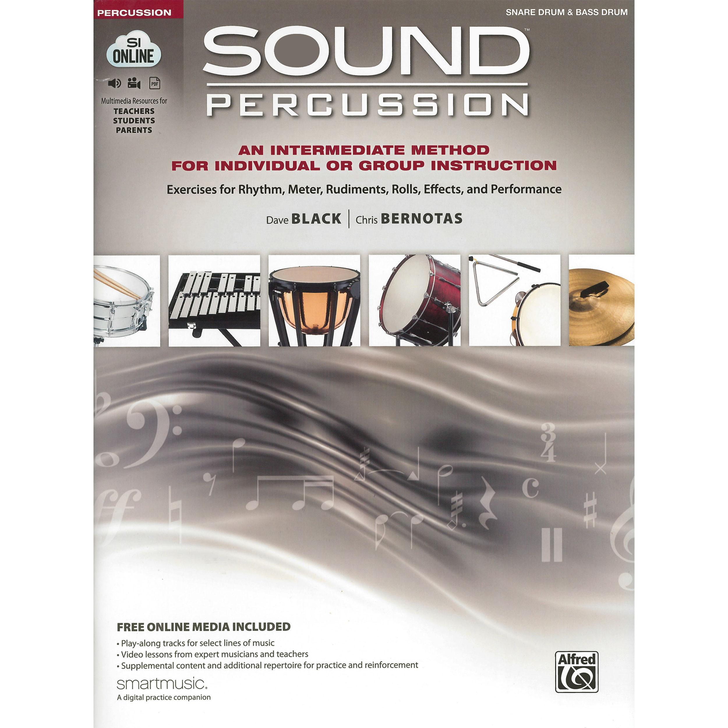 Sound Percussion by Dave Black and Chris Bernotas (Snare & Bass Drum)