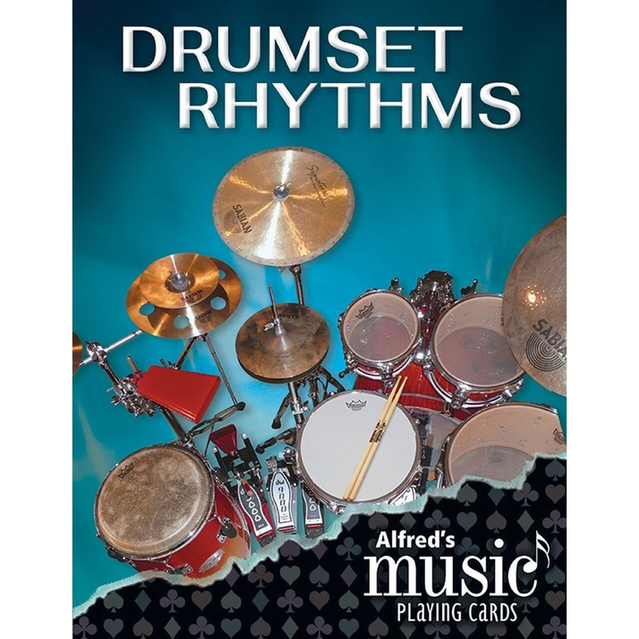 Alfred Music Publishing Drumset Rhythms Playing Cards Deck